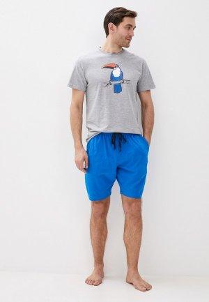 Пижама Atlantic Toucans. Цвет: разноцветный