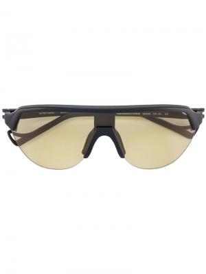 Солнцезащитные очки Nako District Vision. Цвет: черный
