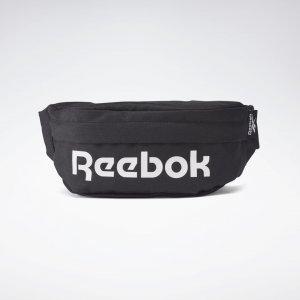 Сумка на пояс Active Core Reebok. Цвет: black