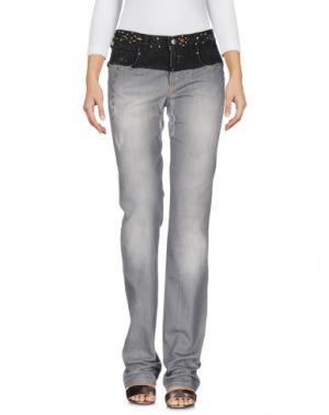 Джинсовые брюки C'N'C' COSTUME NATIONAL. Цвет: серый