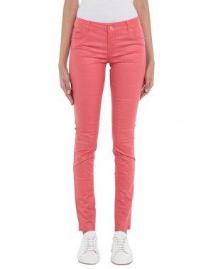 Повседневные брюки SUPERTRASH. Цвет: коралловый