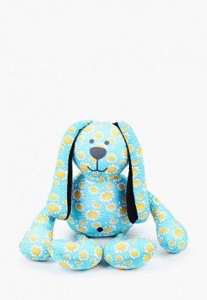 Игрушка Gekoko Ромашковый зая. Цвет: голубой
