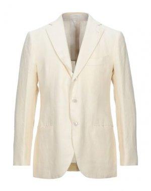 Пиджак CESARE ATTOLINI. Цвет: слоновая кость