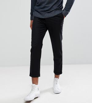 Укороченные брюки со складками TALL-Черный Bellfield