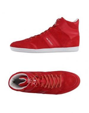 Высокие кеды и кроссовки JIM RICKEY. Цвет: красный