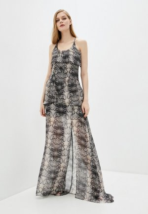 Платье John Richmond. Цвет: серый