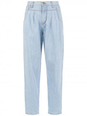Укороченные джинсы Ice Amapô. Цвет: синий