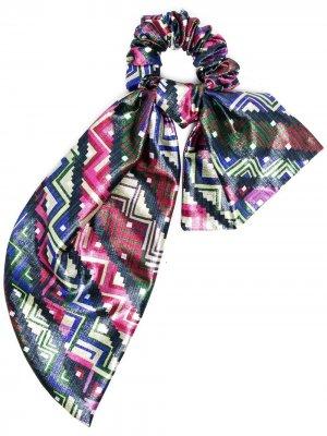 Резинка для волос с бантом M Missoni. Цвет: розовый
