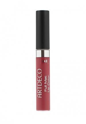 Помада Artdeco матовая стойкая Full Mat Lip Color, тон 54, 5 мл. Цвет: розовый