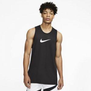Мужская баскетбольная футболка Dri-FIT - Черный Nike