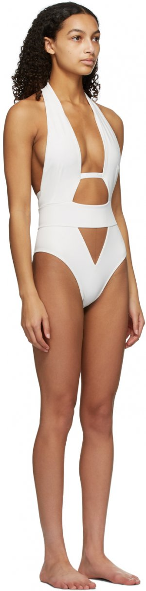 White Anja One-Piece Swimsuit Agent Provocateur. Цвет: white