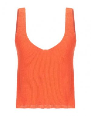 Майка BERNA. Цвет: оранжевый