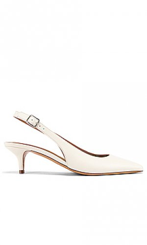 Туфли без задника с ремешком сзади chaussures island A.P.C.. Цвет: белый