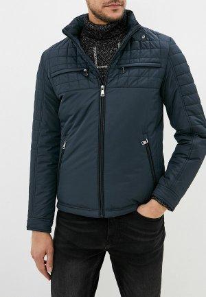 Куртка утепленная Al Franco. Цвет: серый