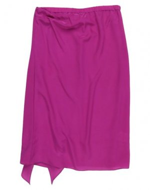 Юбка длиной 3/4 FLAVIO CASTELLANI. Цвет: фиолетовый