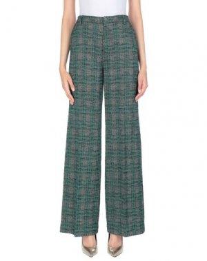 Повседневные брюки COMPAGNIA ITALIANA. Цвет: зеленый