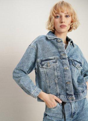 Джинсовая куртка O`Stin. Цвет: светло-синий