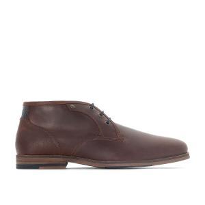 Ботинки-дезерты кожаные ALERTE REDSKINS. Цвет: каштан,черный