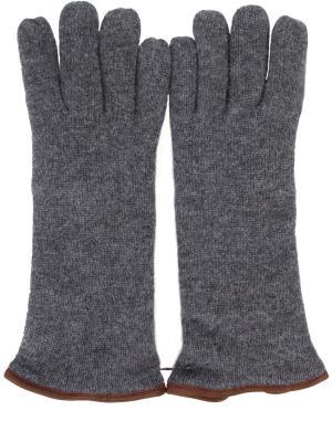 Перчатки Svevo. Цвет: серый