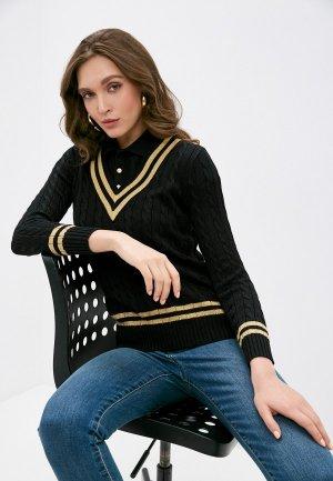 Пуловер Lauren Ralph. Цвет: черный