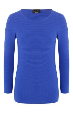 Пуловер Giorgio Armani. Цвет: синий