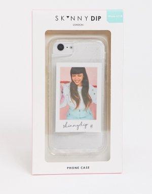Чехол для iphone 6/6S/7/8 и SE Polaroid-Прозрачный Skinnydip