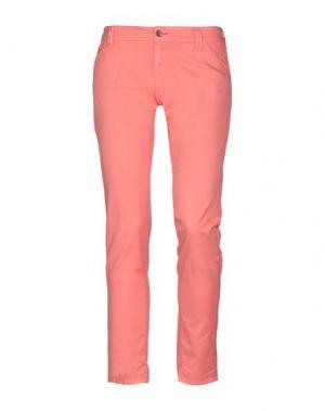 Повседневные брюки JCOLOR. Цвет: коралловый