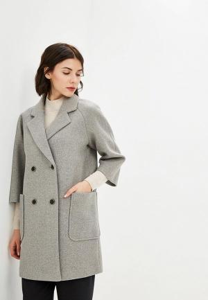 Пальто Acasta ACKSS9CO65. Цвет: серый