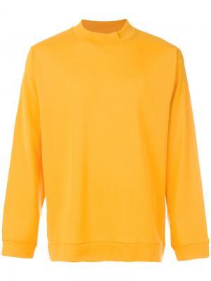 Толстовка с длинными рукавами Libertine-Libertine. Цвет: жёлтый и оранжевый