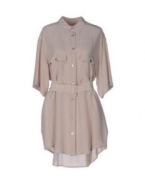 Короткое платье EQUIPMENT. Цвет: светло-розовый