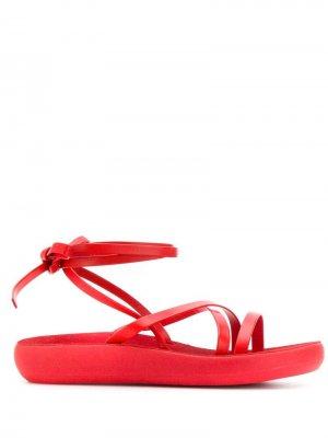 - Для нее Ancient Greek Sandals. Цвет: красный