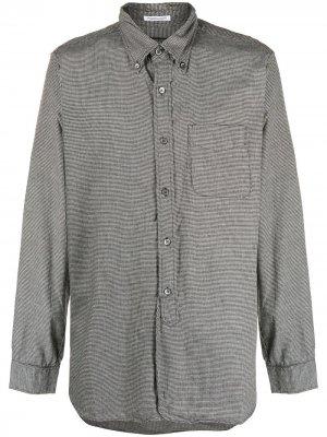 Рубашка в ломаную клетку с длинными рукавами Engineered Garments. Цвет: серый