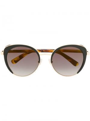 Солнцезащитные очки Gabby Jimmy Choo Eyewear. Цвет: черный