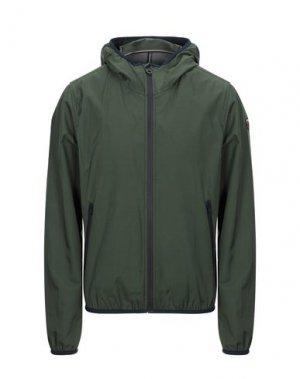 Куртка HISTORIC. Цвет: зеленый-милитари