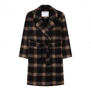 Шерстяное пальто Designers, Remix girls. Цвет: серый