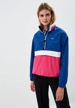 Ветровка Tommy Jeans. Цвет: разноцветный