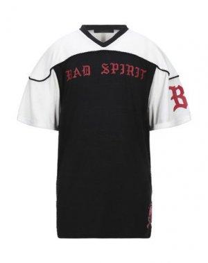 Футболка BAD SPIRIT. Цвет: черный