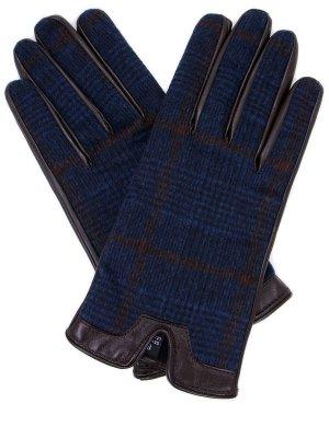 Перчатки комбинированные PIACENZA. Цвет: разноцветный