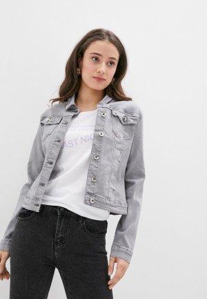Куртка джинсовая Softy. Цвет: серый