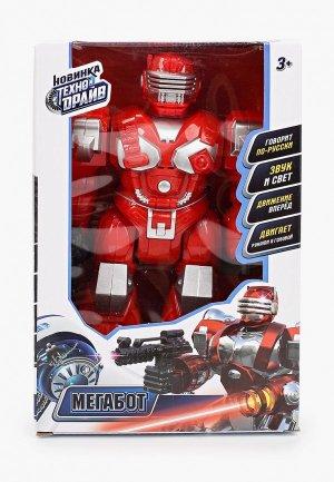 Робот Технодрайв Мегабот. Цвет: красный