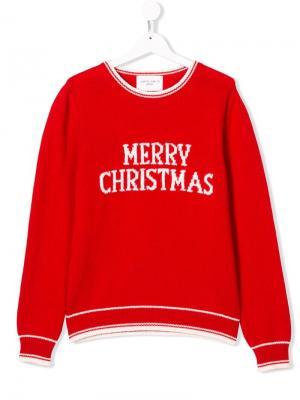 Свитер Merry Christmas Alberta Ferretti Kids