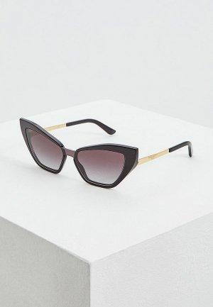 Очки солнцезащитные Dolce&Gabbana DG4357 501/8G. Цвет: черный