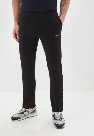 Брюки спортивные Champion Straight Hem Pants. Цвет: черный