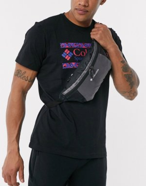 Серая легкая сумка-кошелек на пояс -Серый Columbia