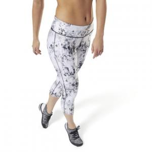 Капри LES MILLS™ All-Over Print Reebok. Цвет: black