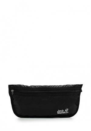 Сумка поясная Jack Wolfskin DOCUMENT BELT. Цвет: черный