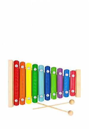 Игрушка Alatoys Металлофон. Цвет: разноцветный