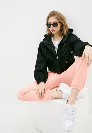 Куртка джинсовая Befree. Цвет: черный