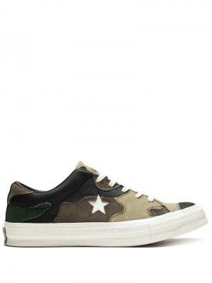 Кеды One Star Ox Converse. Цвет: разноцветный