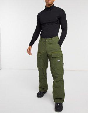 Лыжные брюки оливкового цвета -Зеленый DC